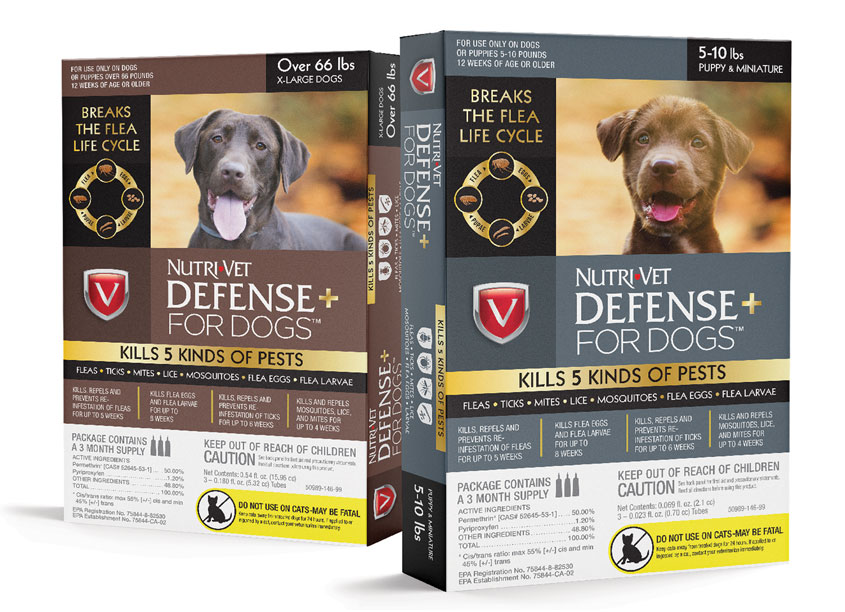 Brian Schultz Design Nutri-Vet® Defense+ for Dogs™
