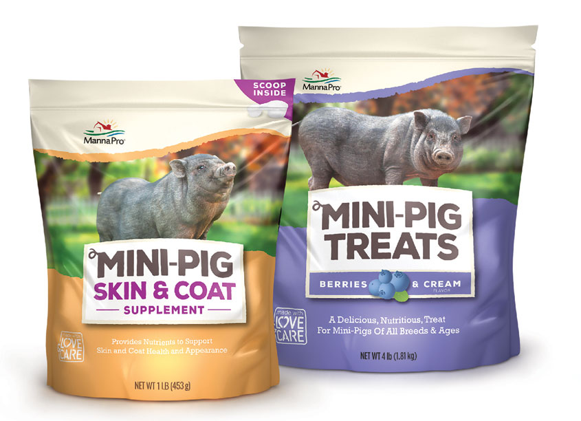 Mini-Pig Treats & Supplements by Brian Schultz Design