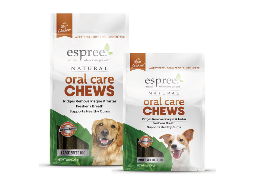 Espree® Oral Care Chews by Brian Schultz Design