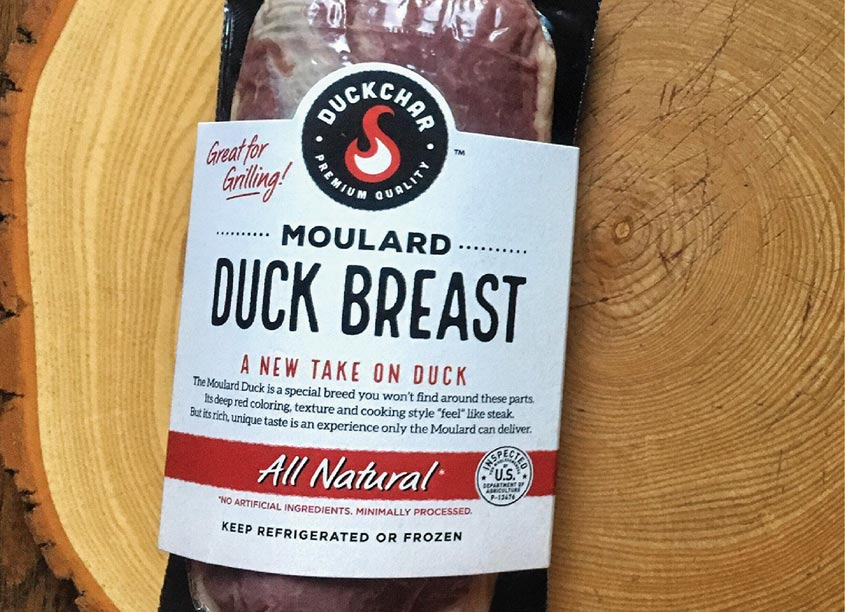 DUCKCHAR™ Moulard Duck Breasts by Brian Schultz Design