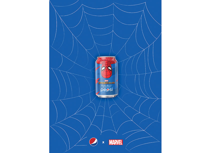 Pepsi x Spiderman HONG KONG by PepsiCo Design & Innovation