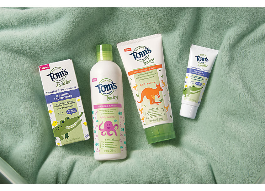 Tom's of Maine, Baby & Toddler by CIULLA ASSOC