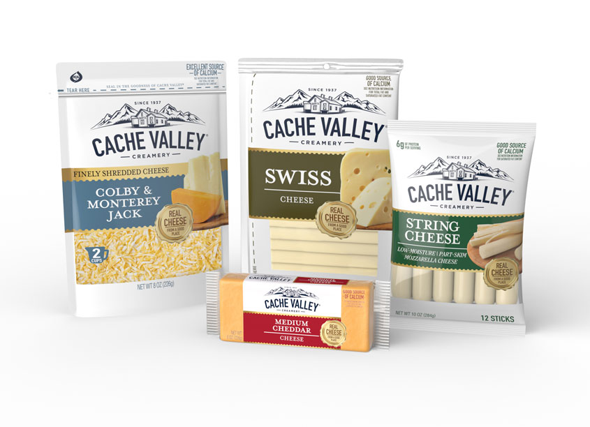 Cache Valley Creamery Cheese by Design Partners