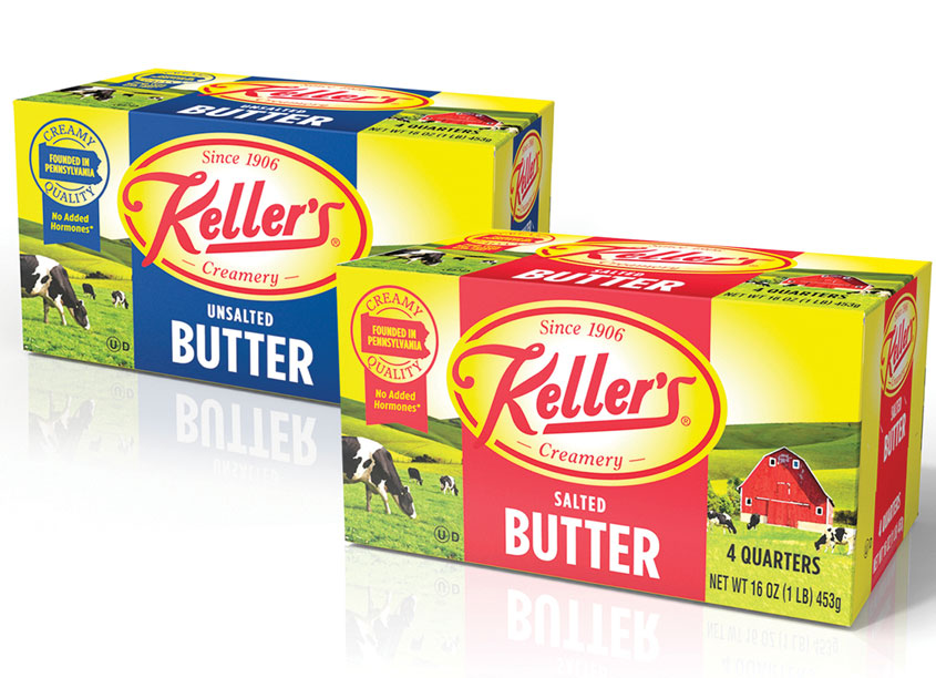 Keller's Creamery Butter by Design Partners