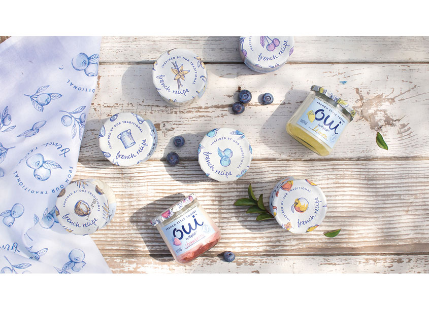 Oui by Yoplait French Style Yogurt by Pearlfisher