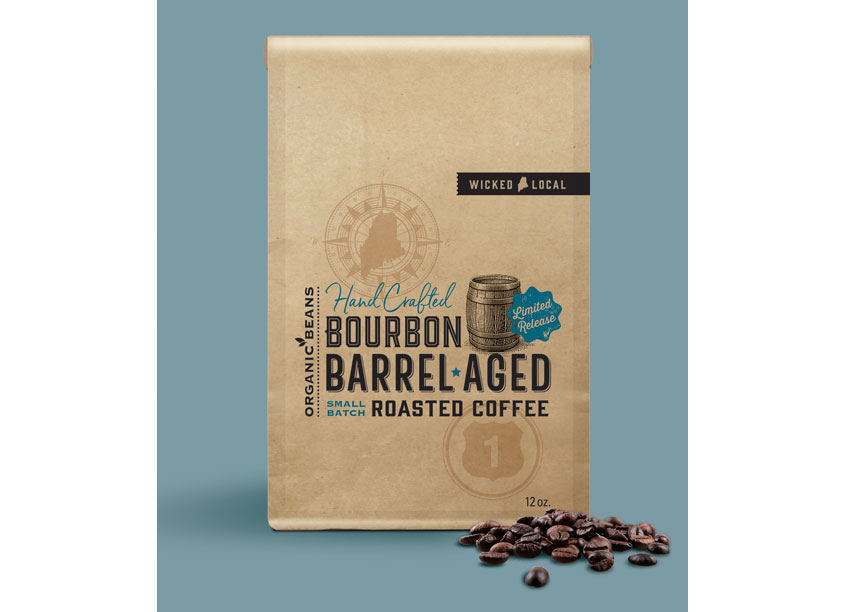 Bourbon Barrel-Aged Coffee by pfw design
