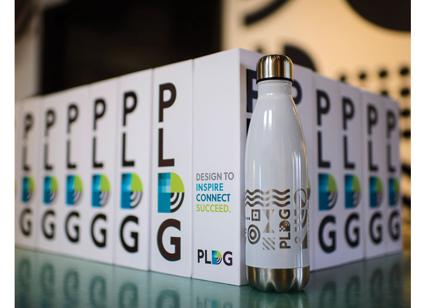 PLDG Water Bottle Packaging by PLDG