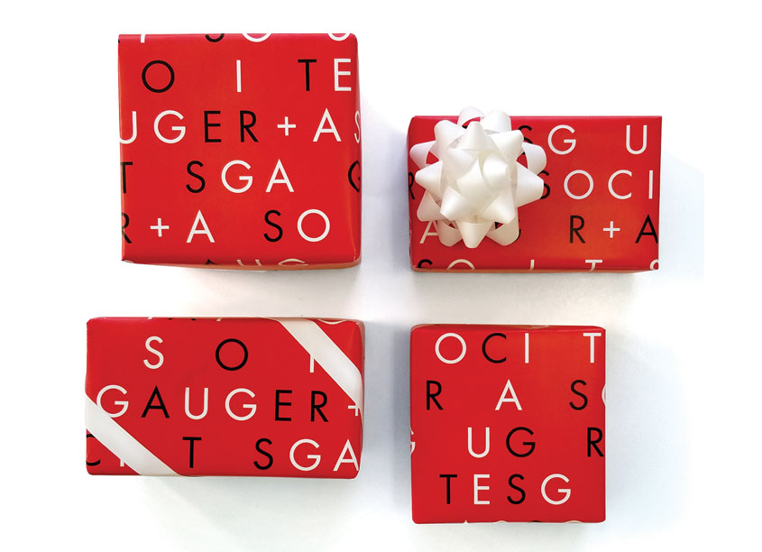 Gauger + Associates Gift Wrap by Gauger + Associates