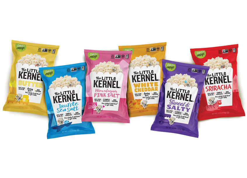 Flood Creative The Little Kernel Flavored Popcorn Line