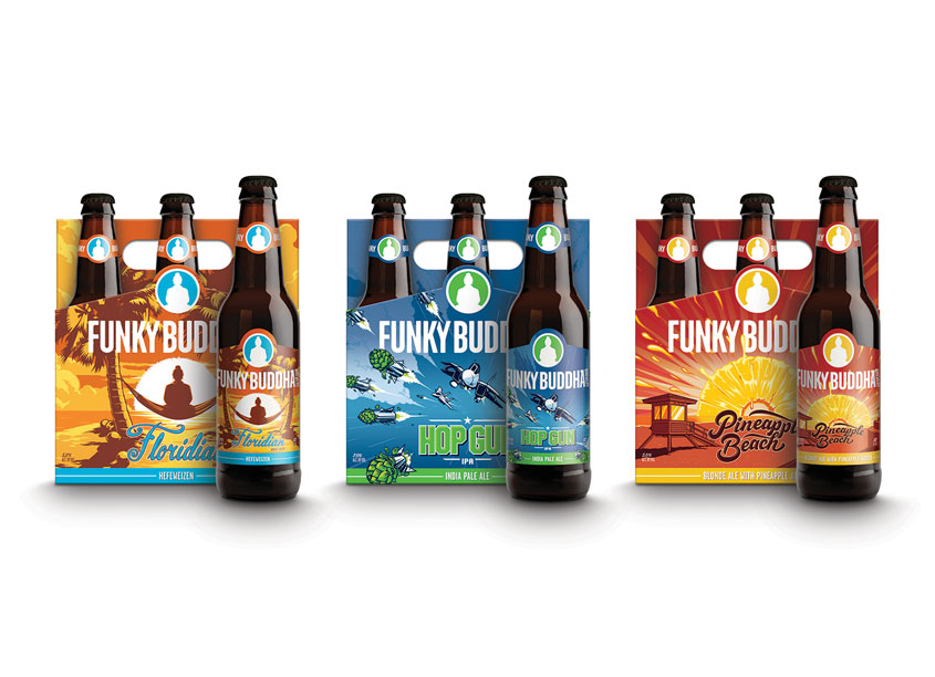 Funky Buddha Six Pack Series by Funky Buddha Brewery