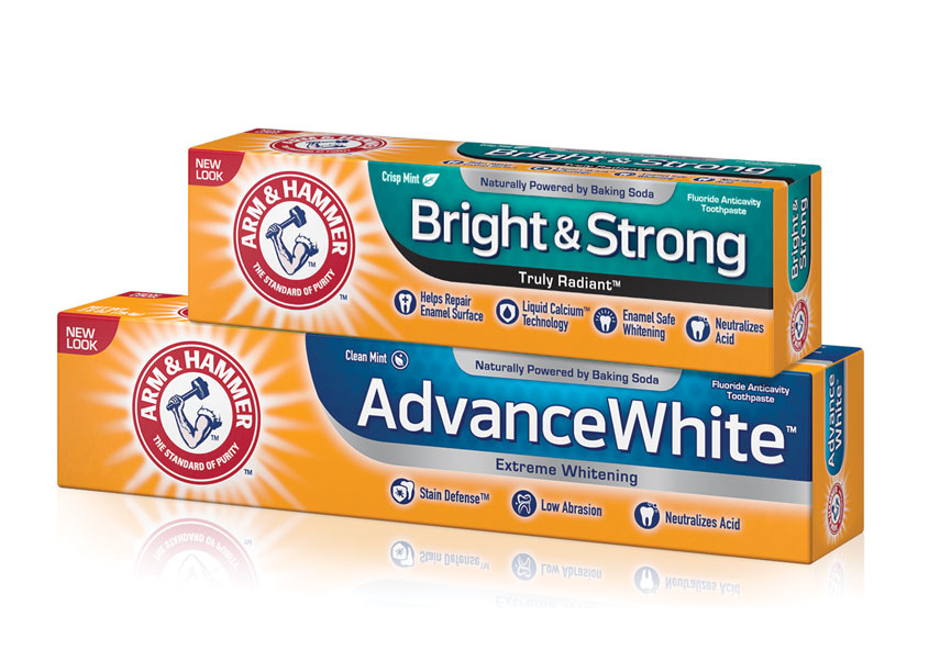 Arm & Hammer Toothpaste Redesign by Colangelo
