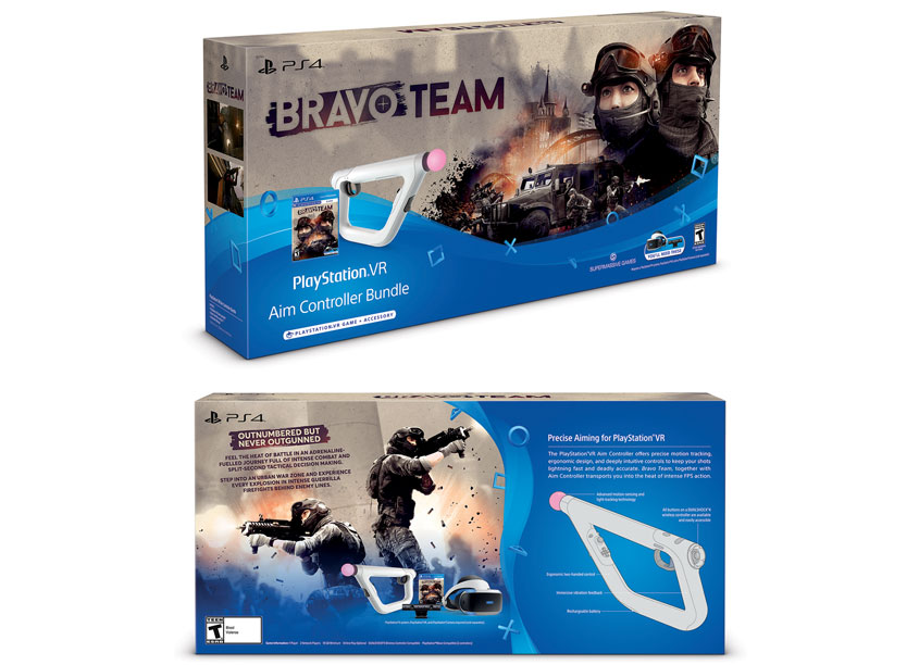 Sony Interactive Entertainment America (SIEA) Creative Design Gr Bravo Team Aim Controller Bundle