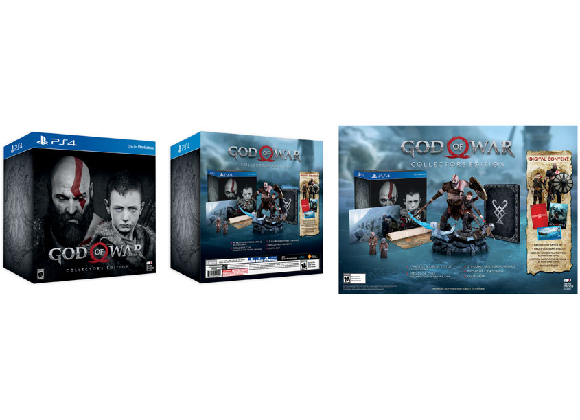 Sony Interactive Entertainment America (SIEA) Creative Design Gr God of War Collector's Edition
