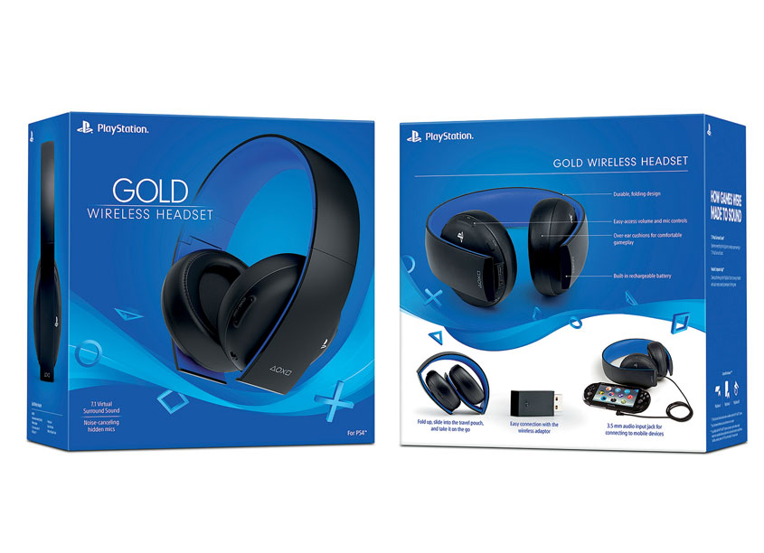 Sony Interactive Entertainment America (SIEA) Creative Design Gr Gold Wireless Headset