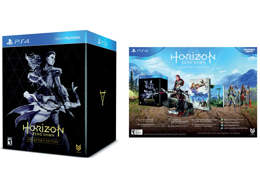Sony Interactive Entertainment America (SIEA) Creative Design Gr Horizon: Zero Dawn Collector's Edition
