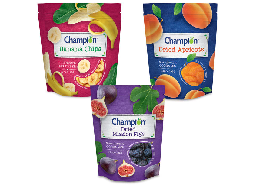 Champion Dried Fruit by Stapley-Hildebrand