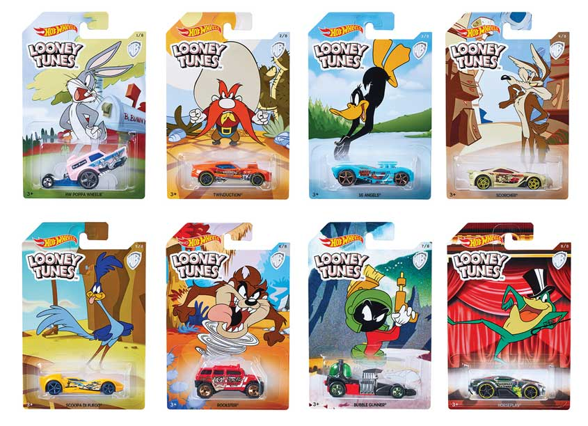 Mattel, Inc. Hot Wheels® Looney Tunes Assortment