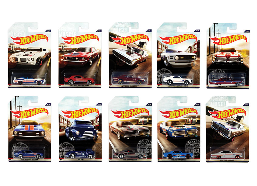 Hot Wheels® American Muscle Assortment by Mattel, Inc.