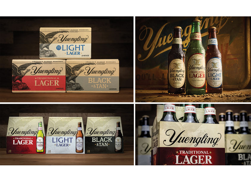 Yuengling Core Brands Redesign by Bailey Brand Consulting