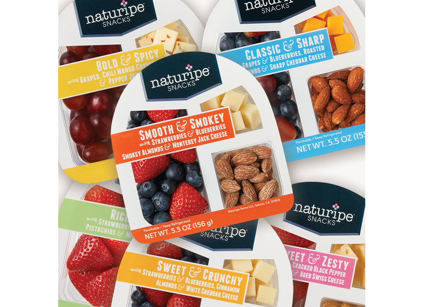 Naturipe Snack Packs by McDill Associates