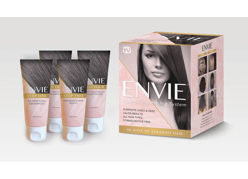 ENVIE Hair Straightening System by Peter Hill Design