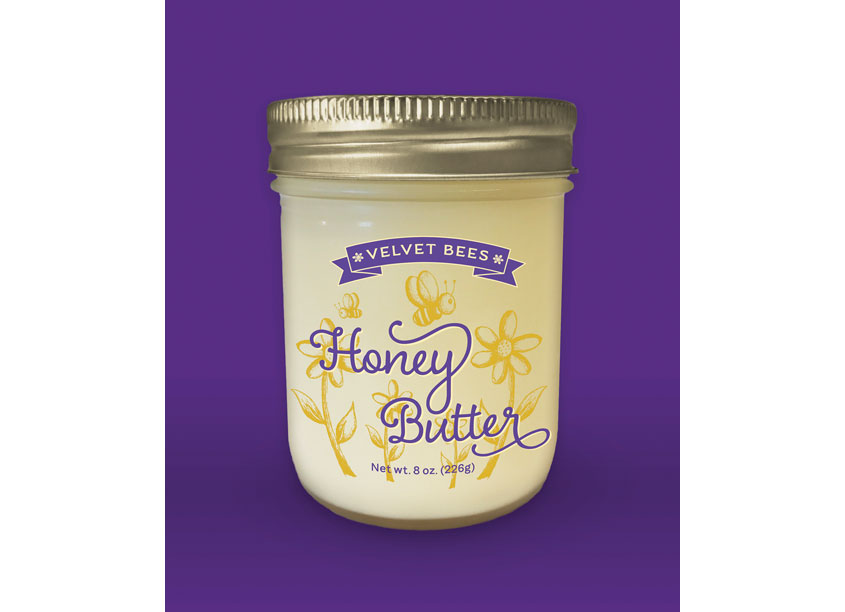 Velvet Bees Honey Butter by Peter Hill Design