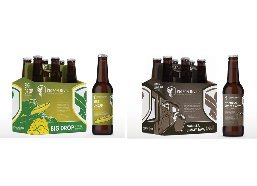 Craft Beer Packaging Series by Quill Creative LLC