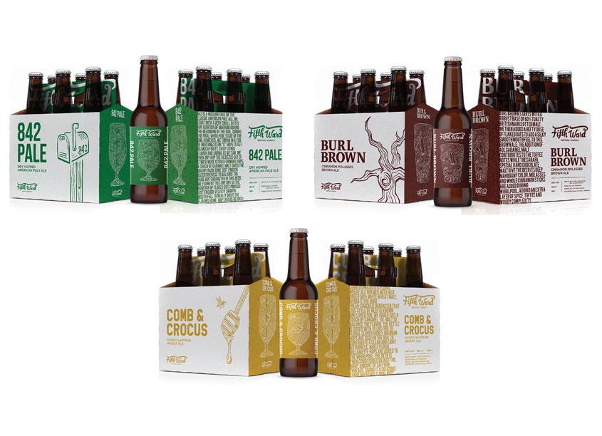 Artisan Craft Beer Packaging Series by Quill Creative LLC