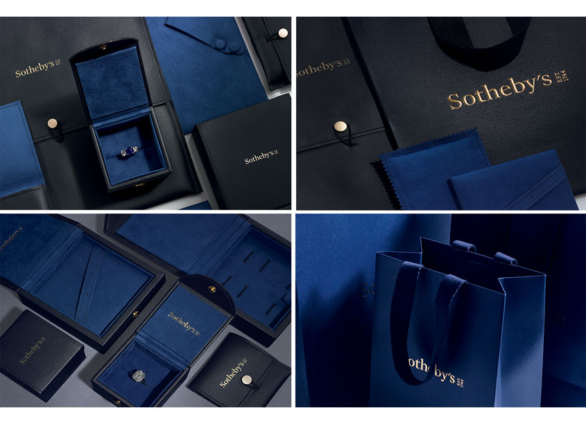 Sotheby's Luxury Packaging Rebrand by Sotheby's