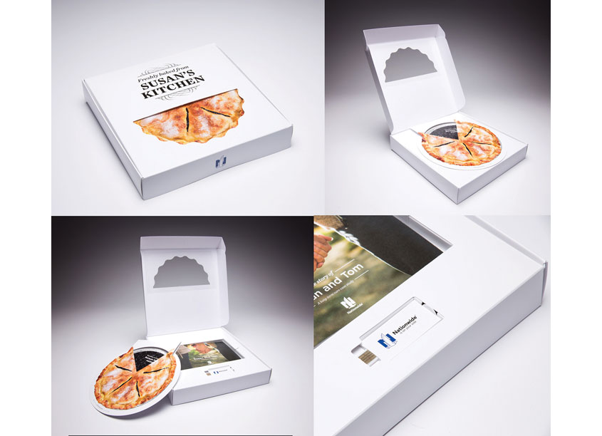 Nationwide CareMatters Pie Box by Structural Graphics