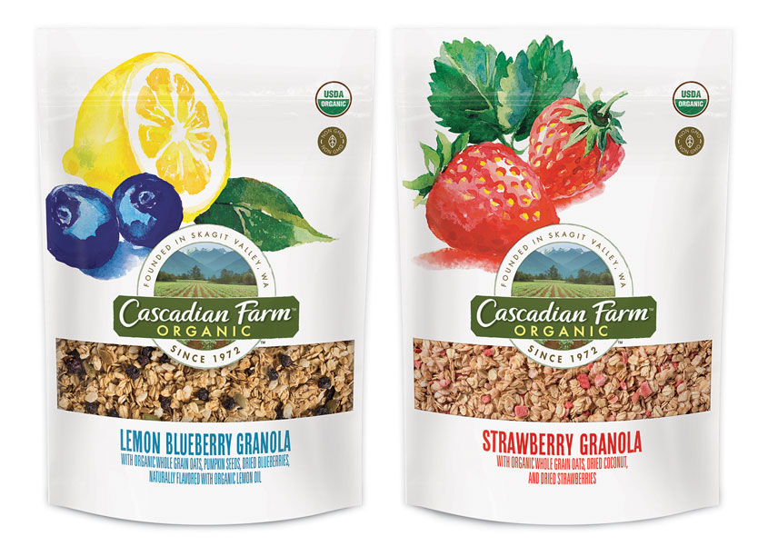 Ultra Creative Cascadian Farm Fruit Granola Package