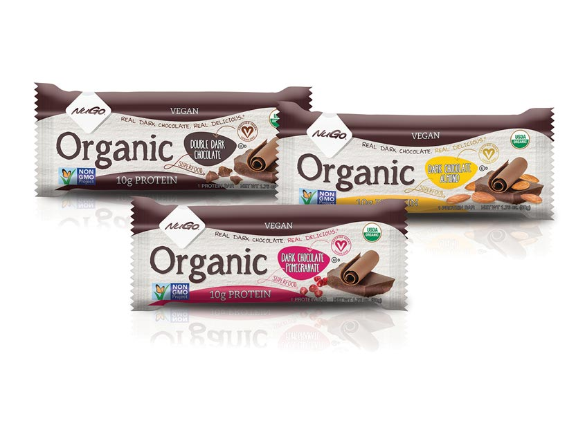 Nugo Organic Protein Bars by Vision Creative Group