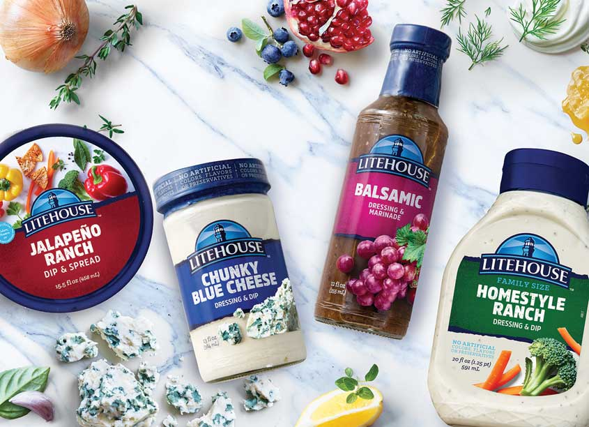 Wallace Church & Co. Litehouse Core Salad Dressing Redesign