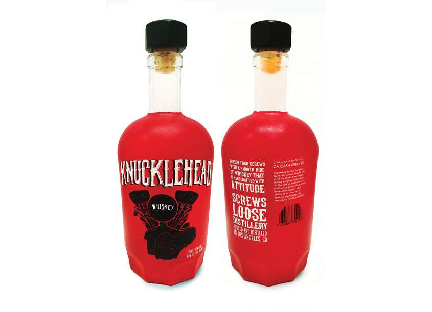 Knucklehead Whisky by School: Woodbury University
