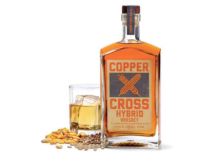 Copper Cross Hybrid Whiskey by Meyocks