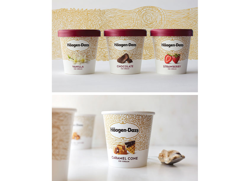 Häagen-Dazs National Redesign by CBA North America