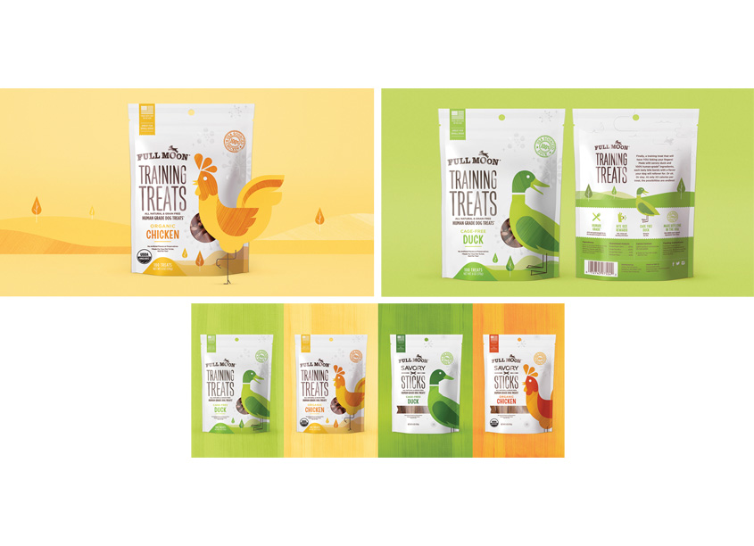 Full Moon Human Grade Dog Treats by Chase Design Group