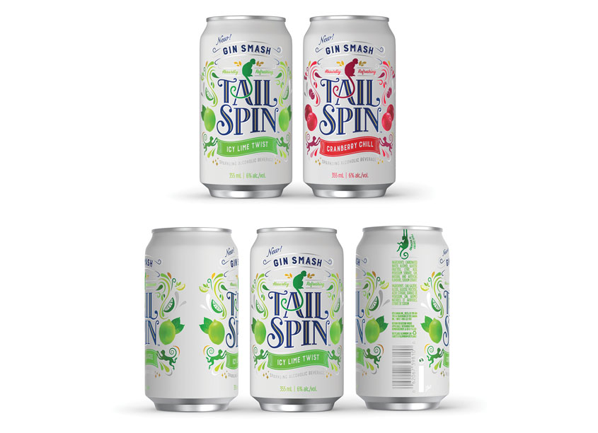 Tail Spin Gin Smash by Chase Design Group
