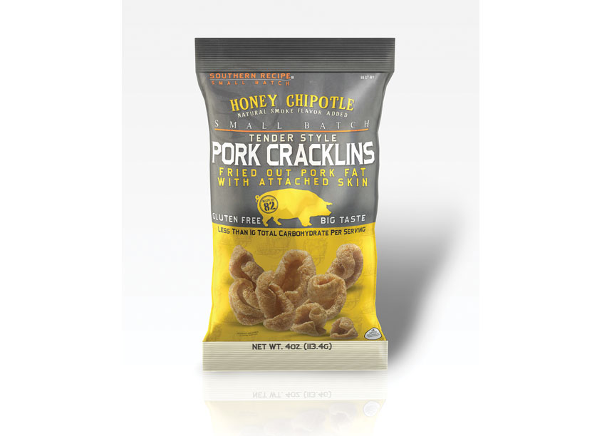 Southern Recipe Honey Chipotle Pork Cracklins by Cyber Graphics
