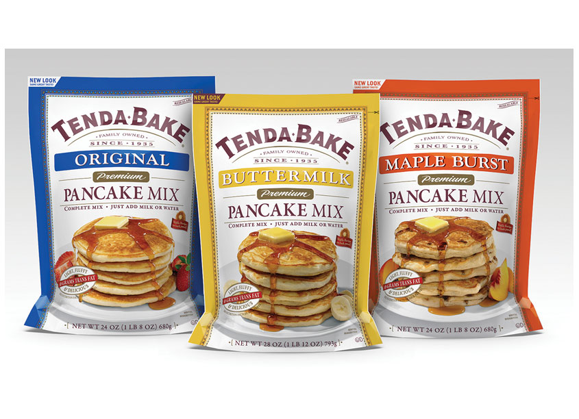 TendaBake Pancake Mix by Cyber Graphics