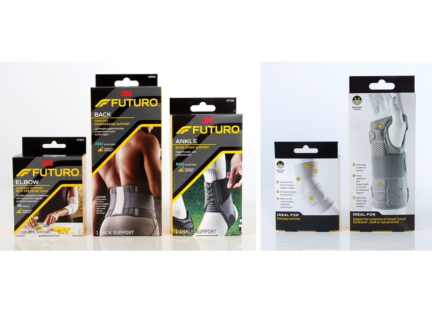 3M Futuro Braces & Supports by 3M Design