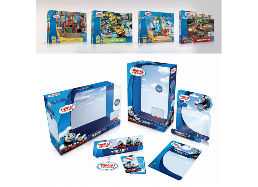 Thomas & Friends™ Branding Redesign by Mattel/Fisher-Price