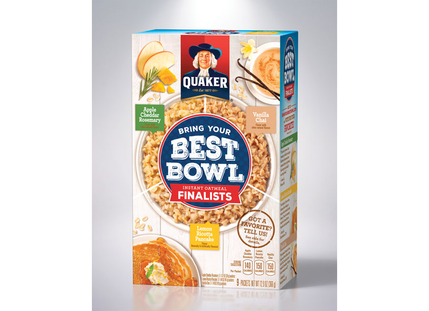 Instant Oatmeal Best Bowl Finalists by Haugaard Creative
