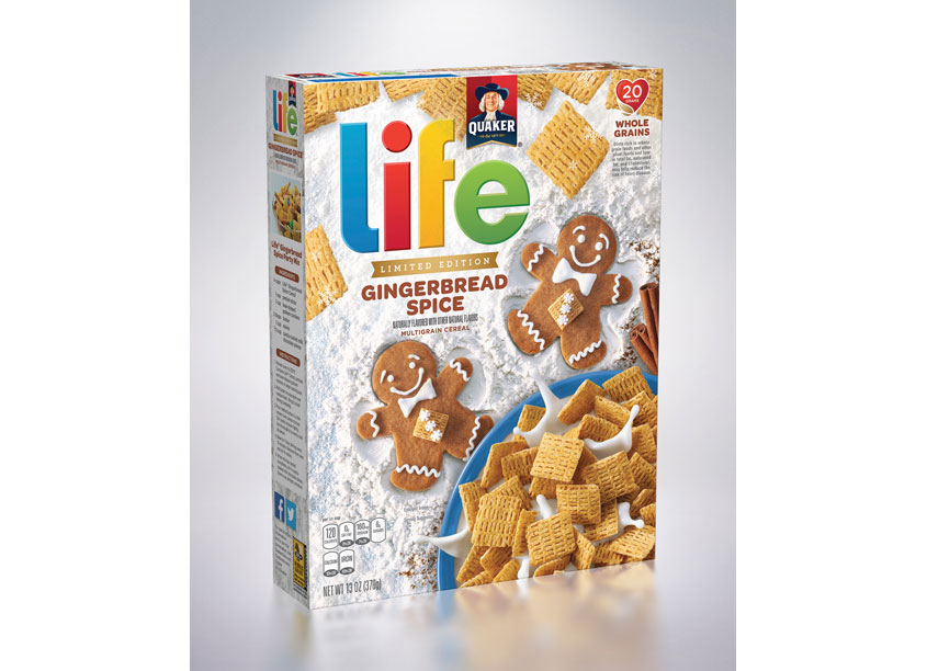 Limited Edition Life Gingerbread Spice by Haugaard Creative