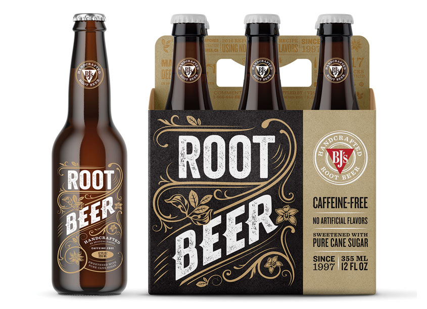 BJ's Brewhouse Root Beer by Saputo Design