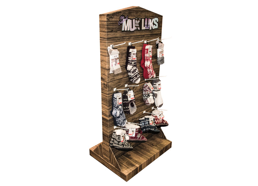 Green Bay Packaging – Midland Division Dunham's Muk Luks Holiday Display