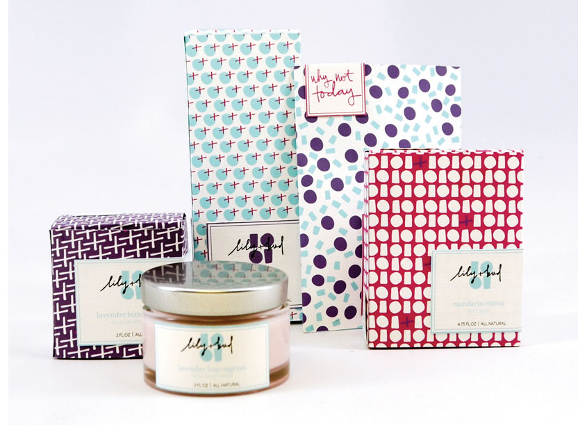 School: Auburn University School of Industrial + Graphic Design Lily & Bud Soap Co. Family