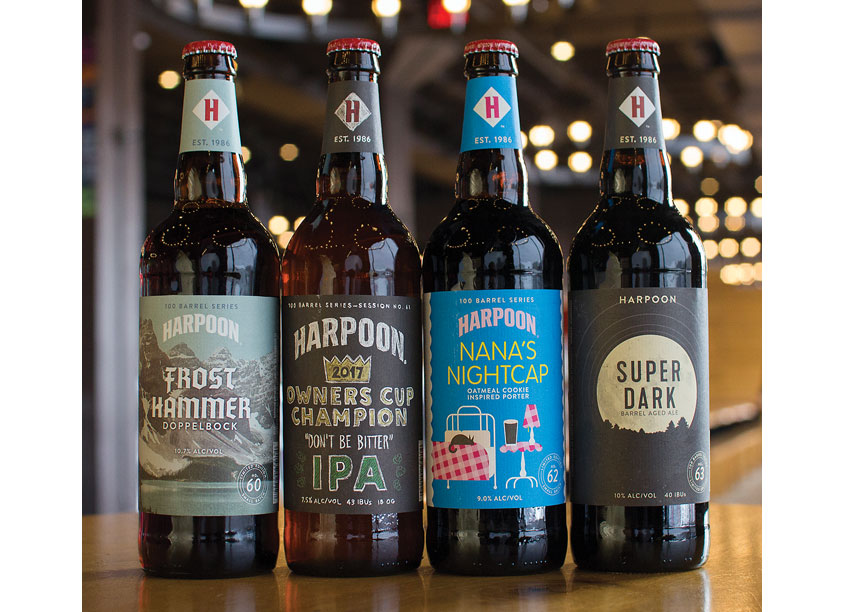 Harpoon Brewery 100 Barrel Series - 2017