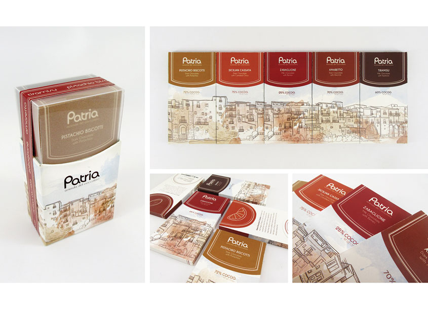 Patria Azienda del Cioccolato by School: Auburn University School of Industrial + Graphic Design