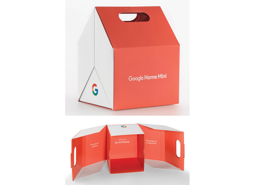 Google® Home Mini Promotional Box by DISC